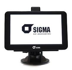 Навигатор Sigma A518 НАВЛЮКС Android
