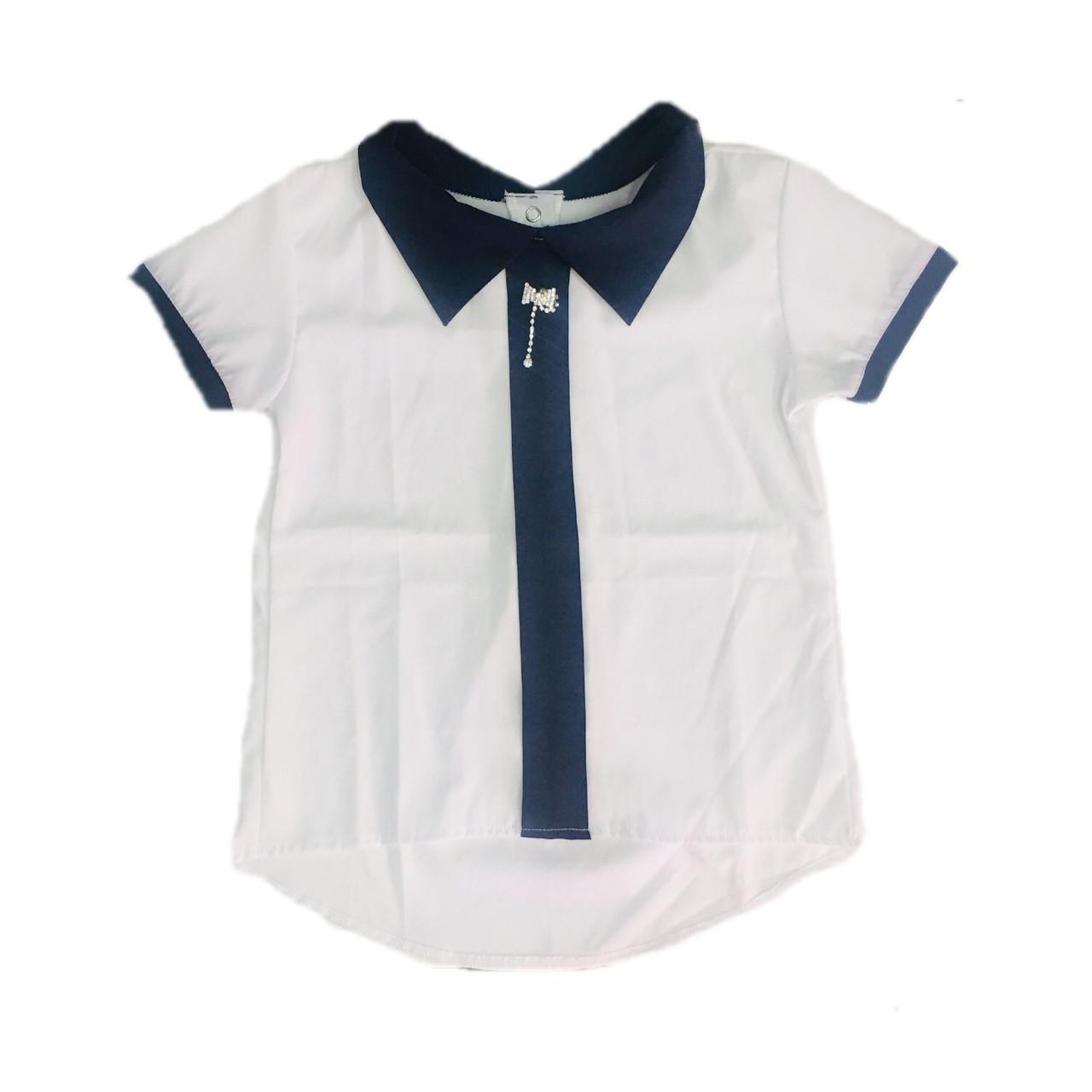 Шкільна блуза для дівчинки, 128см