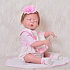Лялька реборн сплюшка Reborn doll хлопчик 55 див. Арт. 14888