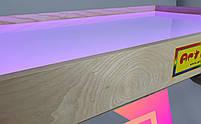 Световой стол-трансформер 100х60см Art&Play® ясень с отсеком для игрушек, фото 4
