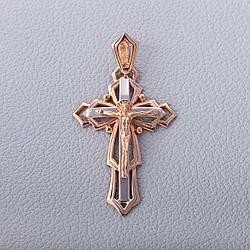 Золотий хрестик з розп'яттям ПП452