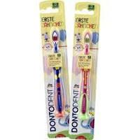 Зубна щітка Dontodent Erste Zähnchen для дітей від 0 до 3 років