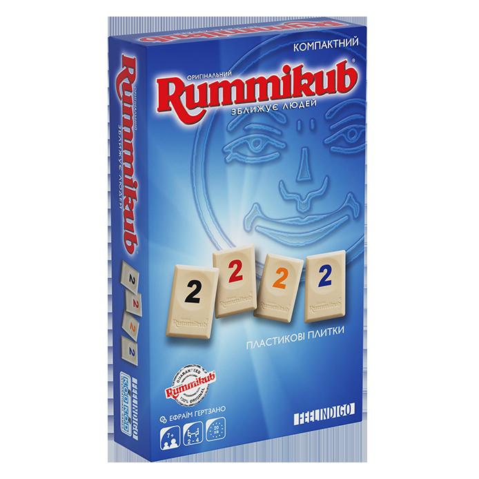 Настольная игра Rummikub Mini (Руммикуб. Компактная версия.)