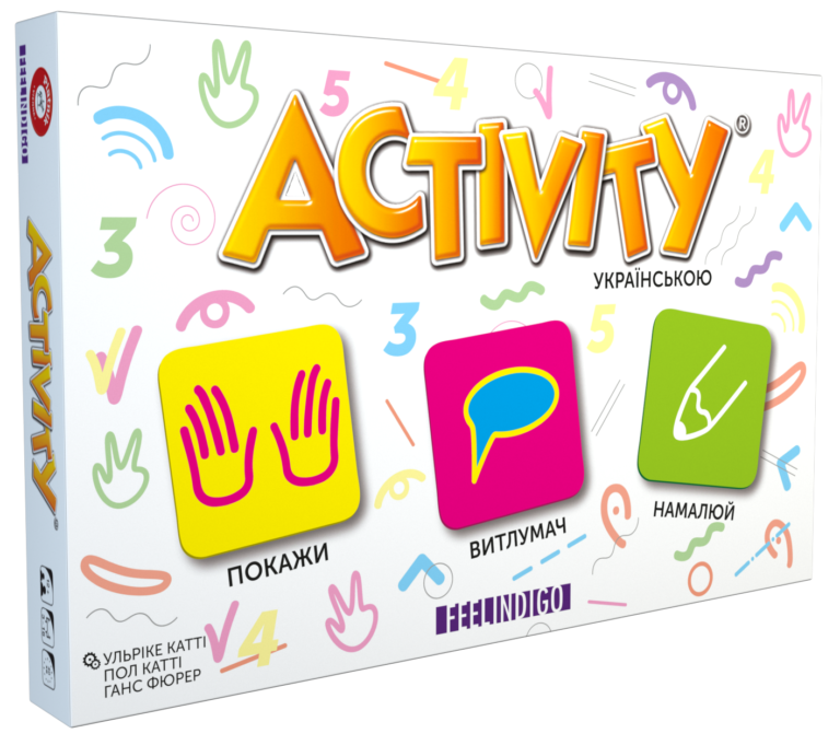 Настольная игра Activity (українська версія)