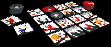 Настільна гра Окія (Окийя, Okiya), фото 2