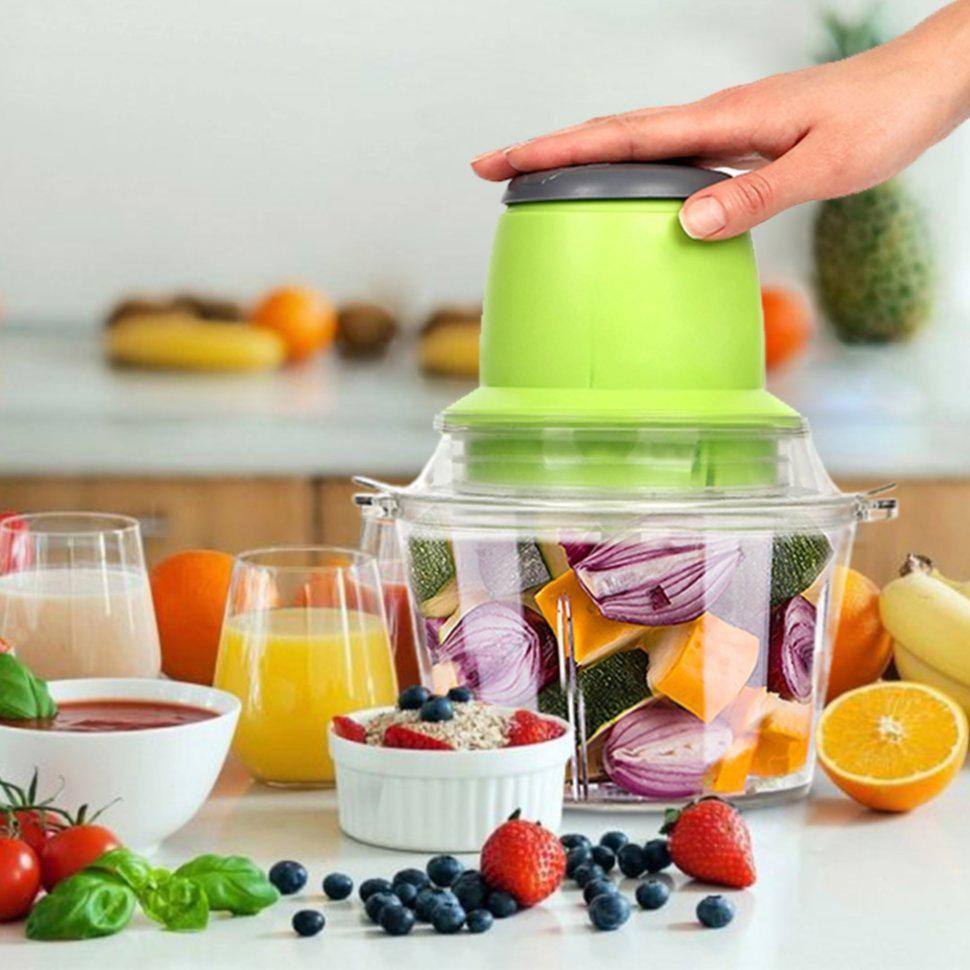 🔥 Кухонный блендер измельчитель Vegetable Mixer от сети 220V