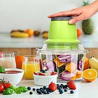 🔥 Кухонный блендер измельчитель Vegetable Mixer от сети 220V, фото 1
