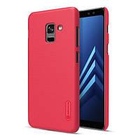 Накладка для Samsung A530 Galaxy A8 2018 Nillkin Super Frosted Shield Red