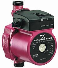 Насос циркуляционный Grundfos 25-60-180 +комплект гаек 25 мм +кабель питания