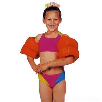 Нарукавники для плавания Intex 59642 «Люкс»,серия «Школа плавания», 25 х 17 см