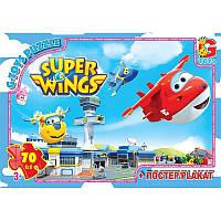 """UW226 Пазли ТМ """"G-Toys"""" із серії """"Супер крила"""", 70 елементів"""