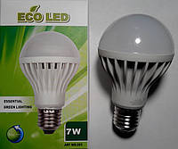 Светодиодная лампа LED E27 7W РАСПРОДАЖА