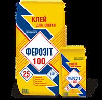 Клей для керамических плиток  Ферозит 100, 25 кг