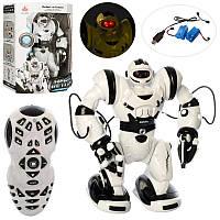 Робот 28091  р/у,аккум,37см,ходит,звук,свет, програм,USBзар,в кор-ке,34-43,5-20,5см