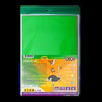 Гофрокартон неоновий А4, 6 кольорів, 6 аркушів