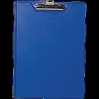 Клипборд-папка А4, PVC, т.-синій