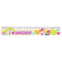 "Линейка 20 см ""Magic unicorn"""