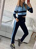 Женский спортивный костюм Цвет - горчица, малина, голубой Размер - 42 ,44 ,46, 48, фото 3