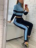 Женский спортивный костюм Цвет - горчица, малина, голубой Размер - 42 ,44 ,46, 48, фото 4