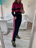 Женский спортивный костюм Цвет - горчица, малина, голубой Размер - 42 ,44 ,46, 48, фото 5