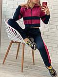 Женский спортивный костюм Цвет - горчица, малина, голубой Размер - 42 ,44 ,46, 48, фото 7