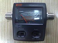 КСВ-метр и измеритель мощности NISSEI RS-40, фото 1