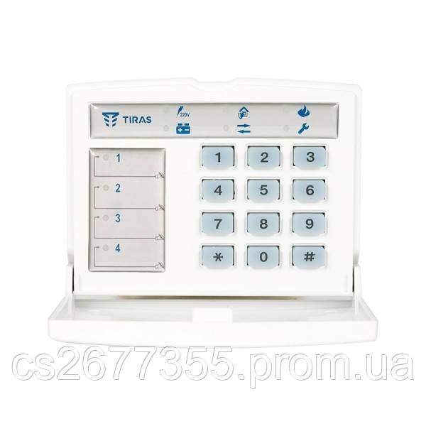 """Світлодіодна клавіатура для ППКО серії """"Оріон-Т.3.2"""" (-І.3.2, -ТМ.1, -ТІ.2) Кл-4ТД"""