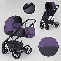 Детская коляска 2 в 1 Expander MODO M-71206 цвет Plum, водоотталкивающая ткань