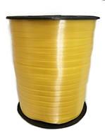 0,5 см (300 м) Лента для шаров желтая полипропиленовая