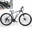 Горный Велосипед Найнер HAMMER-27,5 Черно-Синий Япония Shimano на рост от 160 см до 190 см, фото 2