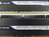 Комплект оперативной памяти Corsair Dominator DDR3 8Gb (2*4Gb) 1600MHz PC3-12800 (CMP8GX3M2A1600C9) Б/У, фото 2