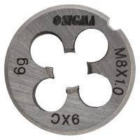 Плашка М8?1,0мм SIGMA (1604201)
