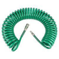 Шланг спиральный полиуретановый (PU) 10м 8?12мм REFINE (7012271)