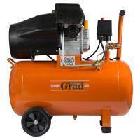 Компрессор V 2.2кВт 386л/мин 8бар 50л (2 крана) GRAD (7043935)