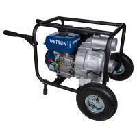 Мотопомпа 7.5л.с. Hmax 26м Qmax 60м?/ч (4-х тактный) для грязной воды WETRON (772557)