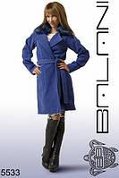 Пальто кашемировое женское с воротником, доставка по Украине