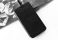 Кожаный чехол книжка MOFI для Samsung Galaxy A8 A8000 чёрный, фото 1