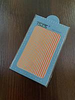 Лента гибкая  для маникюра оранжевая TSZS