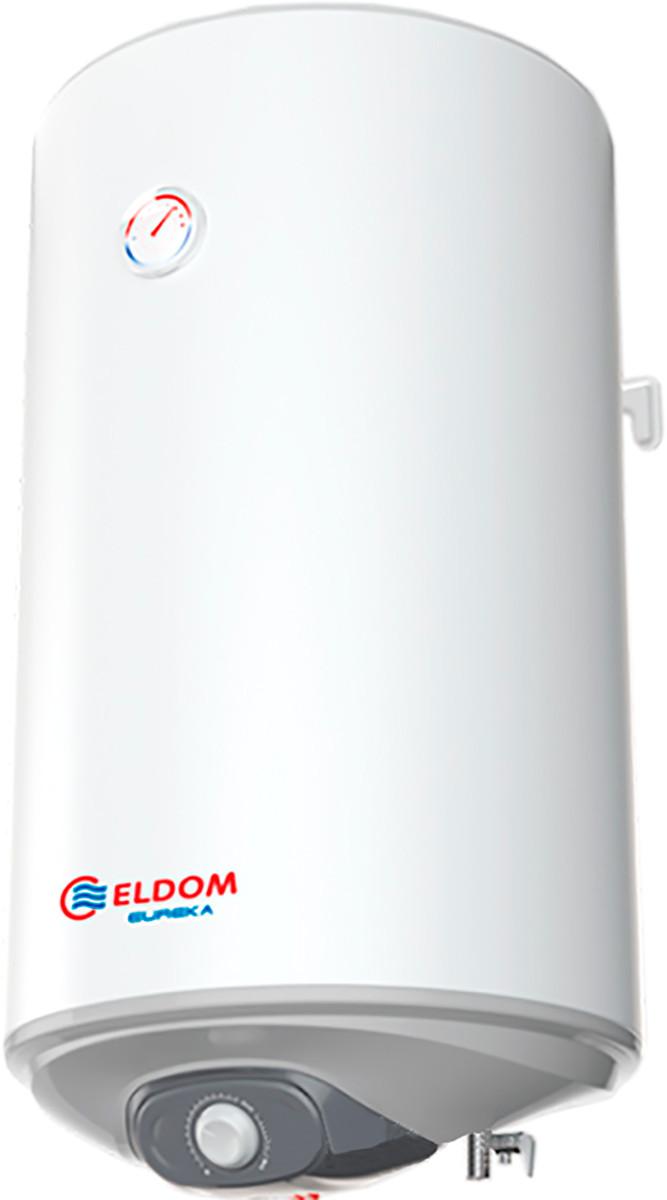 Бойлер настенный Eldom Eureka 80 Сухой тэн 2*1W, толщина бака 2мм, увелич.теплоизол.