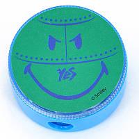 """Точилка круглая """"Smiley World""""(blue)"""