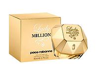 Парфюмированная вода Paco Rabanne Lady Million 80 ml (женские духи Пако Рабан Леди Миллион)