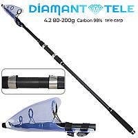 "Спининнг телекарп ""Diamant"" 80-200г 4.2м SF24083"