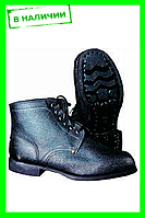 Ботинки кожаные гвоздевые