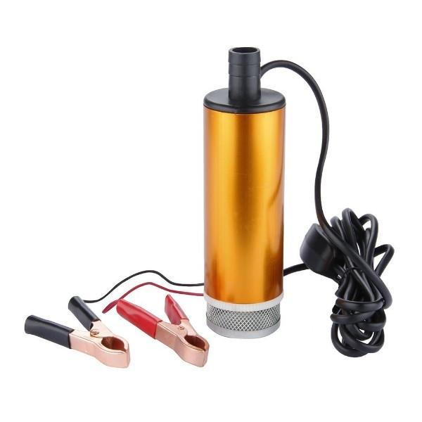 Насос топливоперекачивающий, занурювальний, з фільтром, в алюмінієвому корпусі 50мм. REWOLT (RE SL017-12V)