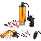 Насос топливоперекачивающий, занурювальний, з фільтром, в алюмінієвому корпусі 50мм. REWOLT (RE SL017-12V), фото 4
