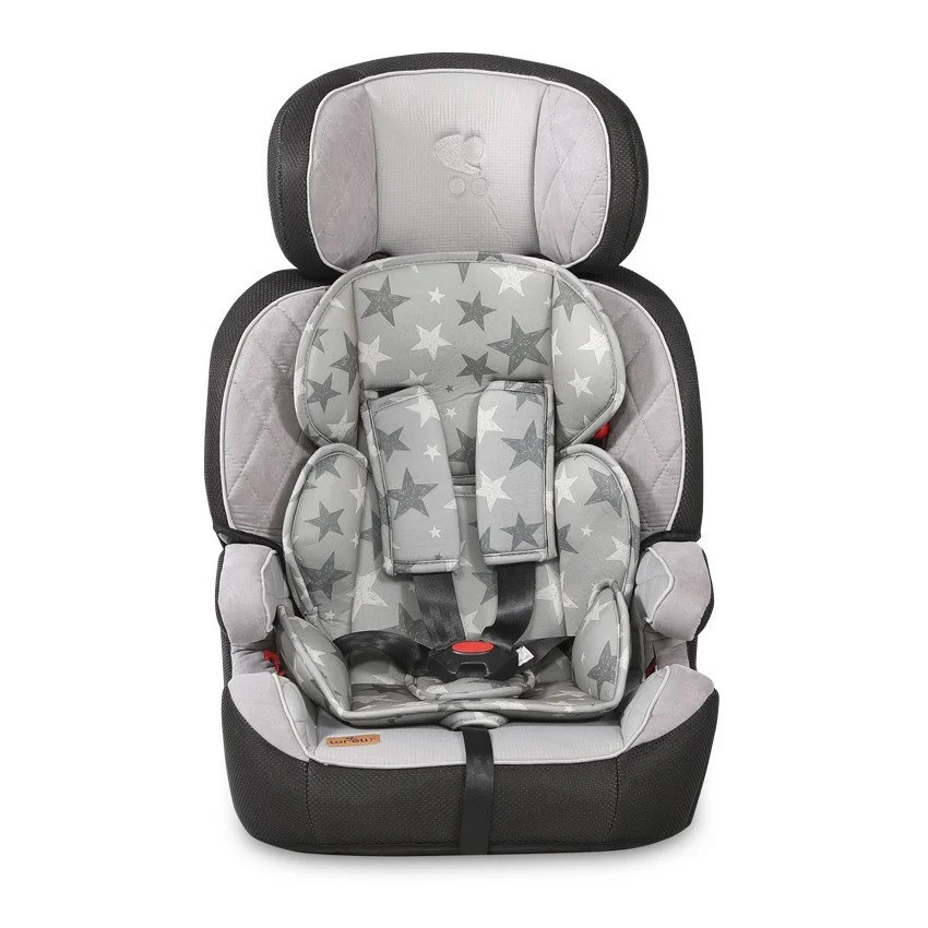 Детске автокресло-бустер Lorelli Navigator 1-2-3 (9-36kg) Серый