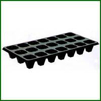 Кассеты для рассады 21 ячейка (21Q), размер кассеты 54х28см толщина стенки 0,7мм