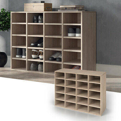 Шкаф для обуви, стеллаж для дома, из ДСП 20 отсеков, Дуб сонома, фото 2