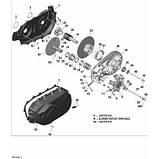 Коронка вариатора Can-Am BRP DRIVEN PULLEY CAM, фото 2