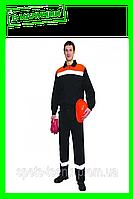 Костюм мужской для защиты от общих производственных загрязнений и механических воздействий. (плотная ткань)